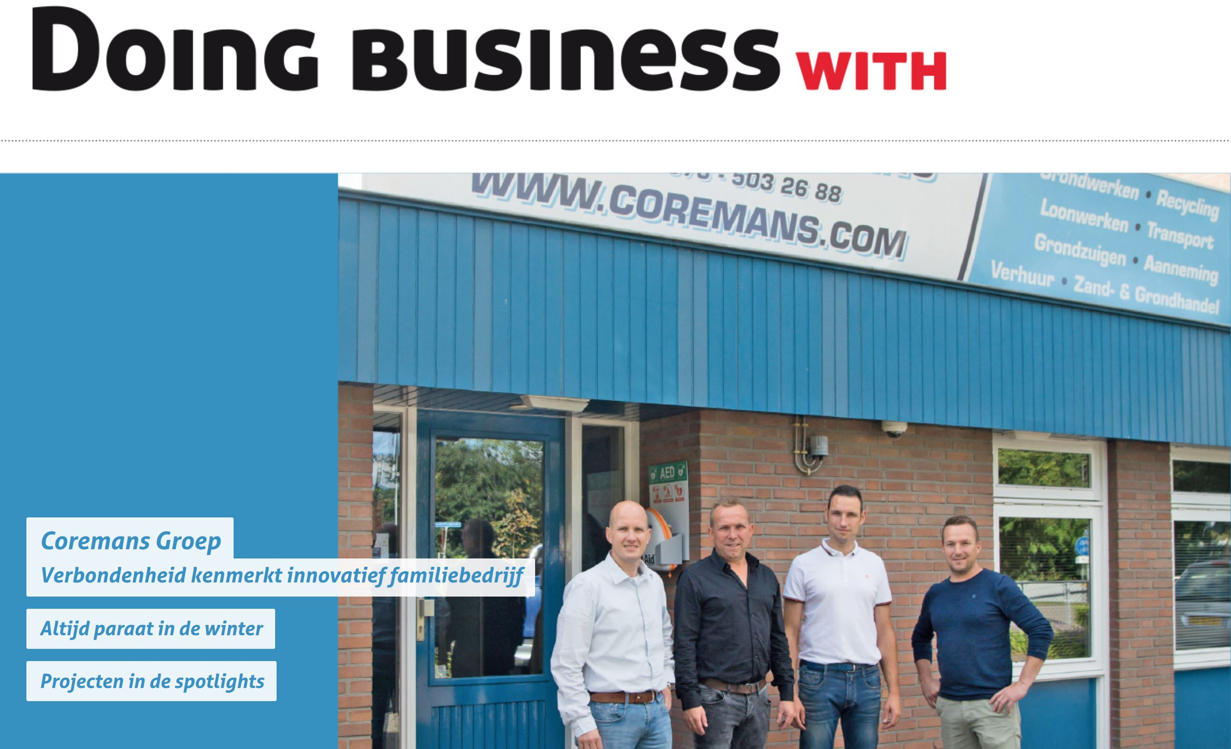 Artikel doing business with